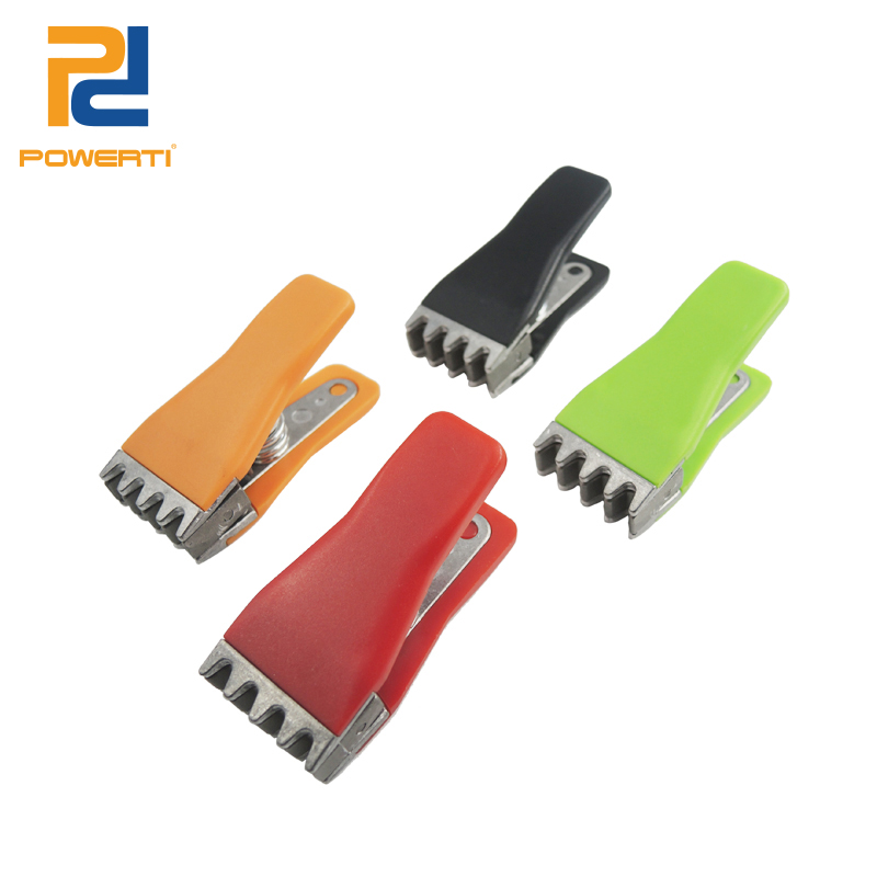 POWERTI Mini Awl Flying Clamps Badminton String Machine Tools Clamps For Badminton Racket With 5 Tooths