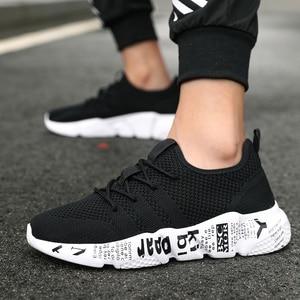 Image 5 - QGK 2019 男性の靴カジュアル高品質ファッションスタイル男性が快適な靴メッシュ屋外ウォーキングジョギングスニーカー Tenis Masculino