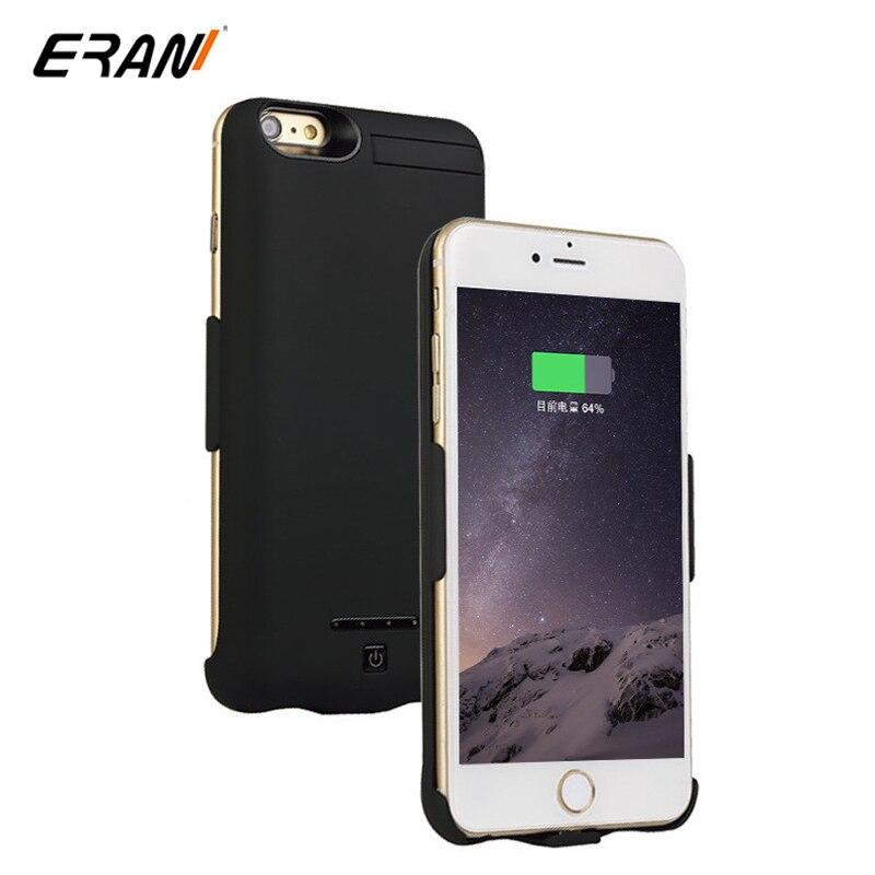 imágenes para Caso de la energía Para iPhone 7 Plus 7 Caso Externo Del Cargador de Batería 5000/8000 mAh Caso de Reserva de Carga Powerbank caso para el iphone 7