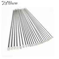 New Classic 11Sizes 22Pcs 36cm Stainless Steel Single Pointed Knitting Needles For Craft Weave Tool Home
