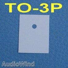 (50 шт./лот) TO-3P транзистор кремния изолятор, изоляция лист.
