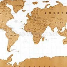 82*58 см дизайн Скретч Карта мира путешествия Скретч Карта лучший подарок для образования школы mapa mundi mapa