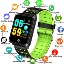 BANGWEI Sport Watch Depth IP68 Waterproof Smart Watch Blood Pressure Heart Rate Monitor Calorie Pedometer Information Reminder все цены