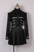 Free Shipping Tokyo Ghoul Kaneki Ken Girl Uniforms Female Ken Kaneki Cosplay Costume Jacket Skirt Stockings