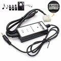 Автомобиль USB Адаптер MP3 Аудио Интерфейс SD AUX USB Кабеля для Передачи Данных Подключите Виртуальный Cd-чейнджер для Acura Honda 2.4