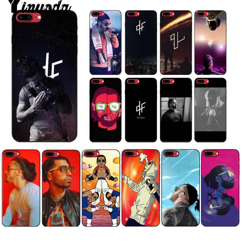 Yinuoda – Coque de téléphone portable PNL rappeur, étui pour Apple iPhone 8 7 6 6S Plus X XS MAX 5 5s SE XR