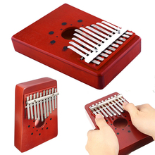 New 10Keys Kids Thumb Children Wooden Piano Kalimba Musical Traditional Instrument Portable Great Gift For Beginner thumb piano portable beginner instrument thumb piano 10 tone kalimba 10 fingers finger piano wear resistant