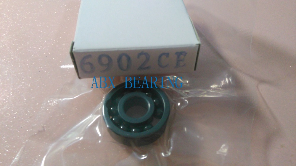 6902 full SI3N4 ceramic deep groove ball bearing 15x28x7mm full complement 61902 6902 full zro2 ceramic deep groove ball bearing 15x28x7mm full complement 61902