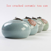 Wholesale Ge Kiln Ice Cracked Ceramic Tea Cans New Features Small Tea Can