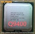 Оригинальный Intel Core 2 Quad Q9400 CPU Процессор (2.66 ГГц/6 М/1333 ГГц) Socket 775 Настольный ПРОЦЕССОР (работает 100% Бесплатная Доставка)