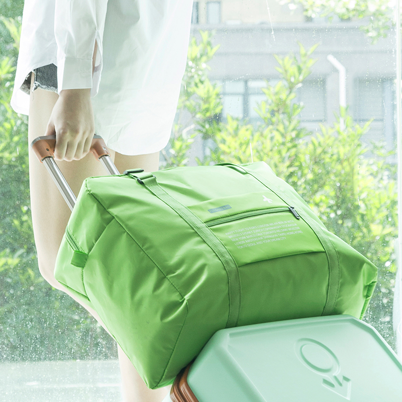 2018 Travel Bags WaterProof Travel Folding Bag Large Capacity Bag Luggage Women Nylon Folding Bag Travel Handbags Free Shipping 1