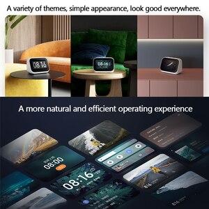 Image 5 - Оригинальный динамик Xiaomi AI с сенсорным экраном, Bluetooth 5,0, 3,97 дюймов, цифровой дисплей, будильник, Wi Fi, умное соединение, Mi динамик