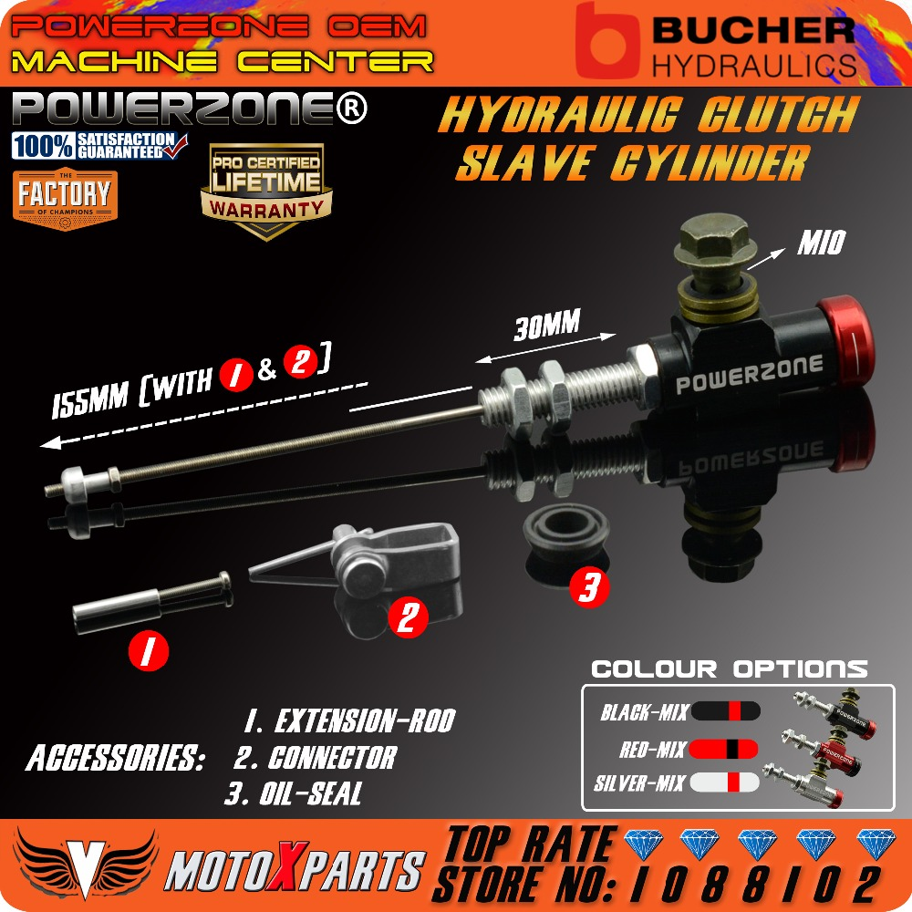 Hydraulic Clutch Slave Cylinder Conversion Pull Rod For KTM CBR CB CG YBR GS GN125 250 300 400 650 1000CC Free Shipping