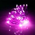 5 М 50led Led String Свет Щепка Медный провод Гирлянды водонепроницаемый home Decor свет рождественский праздник свадьба открытый SW