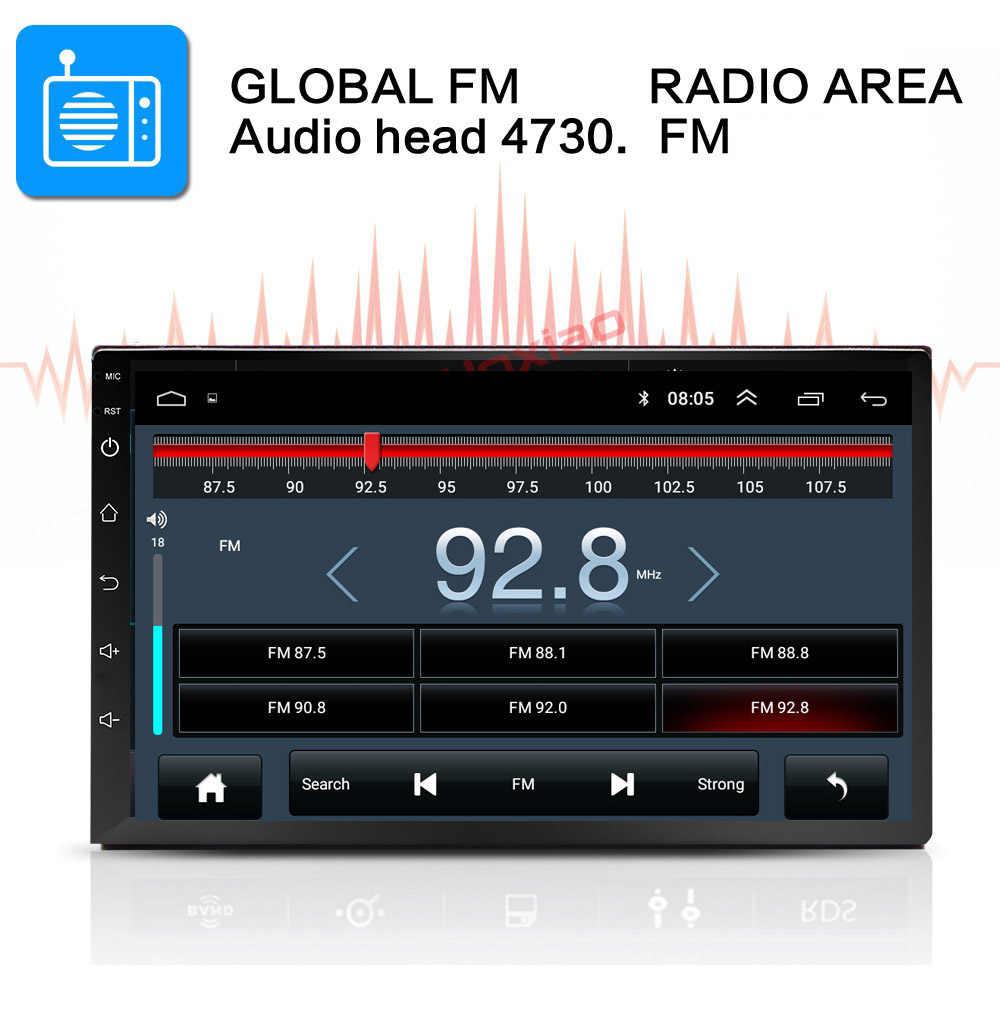 Android 8.1 2 Din araba radyo multimedya Video oynatıcı evrensel otomatik Stereo GPS harita için Volkswagen Nissan Hyundai Kia toyota CR-V