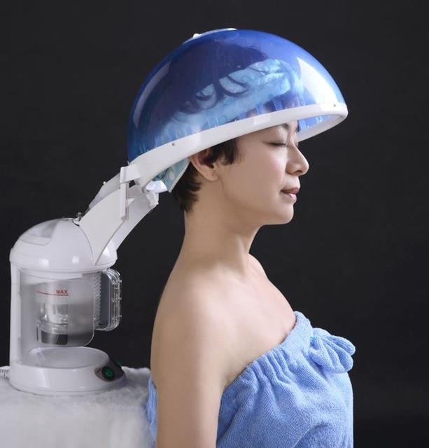 Озон уход за лицом насыщенного водяного пара волос многофункциональный 2 в 1 Лица пароход Лечение волос cap новая версия