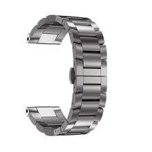 High Quality Titanium Steel Bracelet Wrist Strap For Garmin Fenix 5X