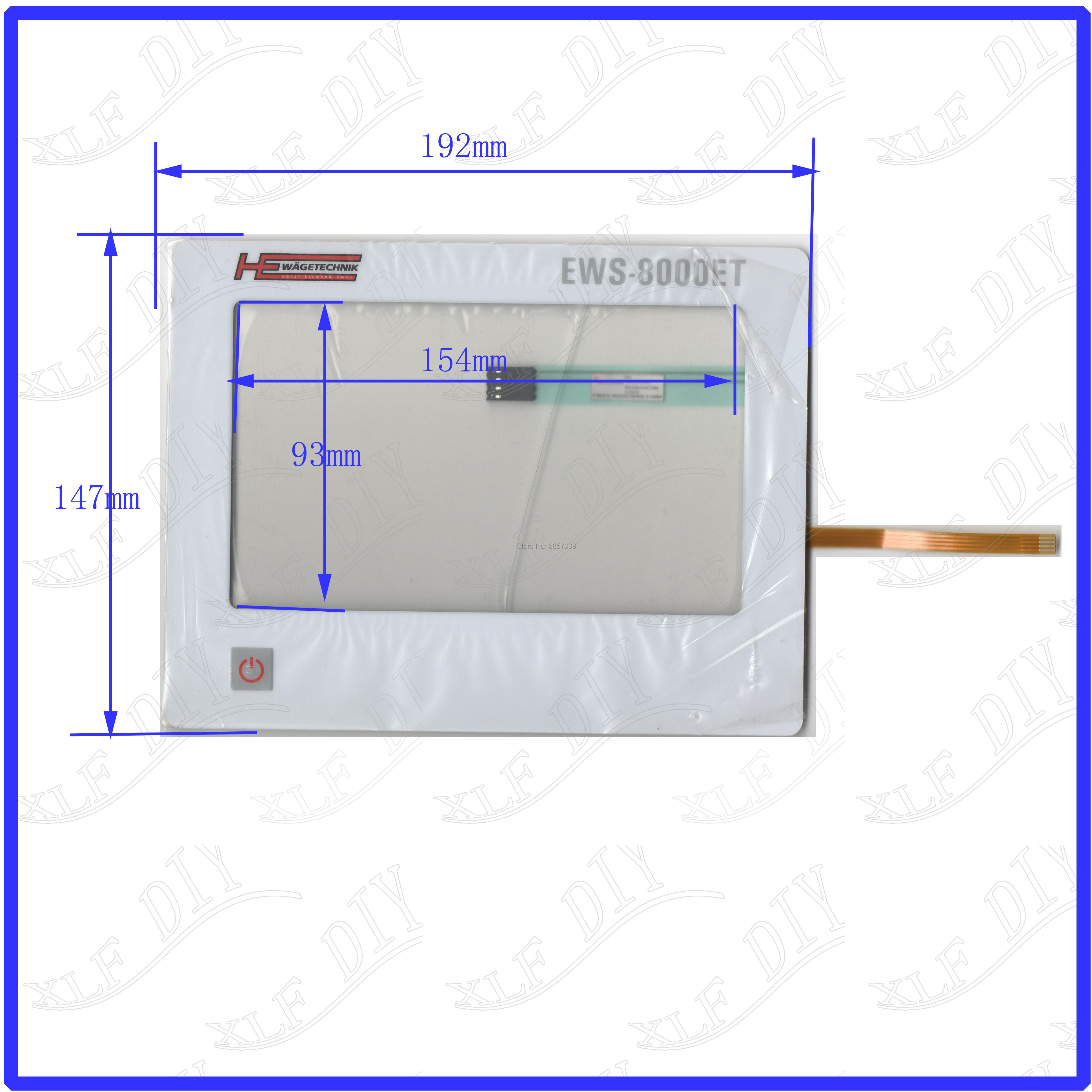 EWS-8000ET USED WAGETECHNIK Membrane key panel 7 inch touchsensor glass New Touch Screen Replace zhiyusun for iq701 new 8 inch touch screen panel touch glass this is compatible touchsensor 124 5 173