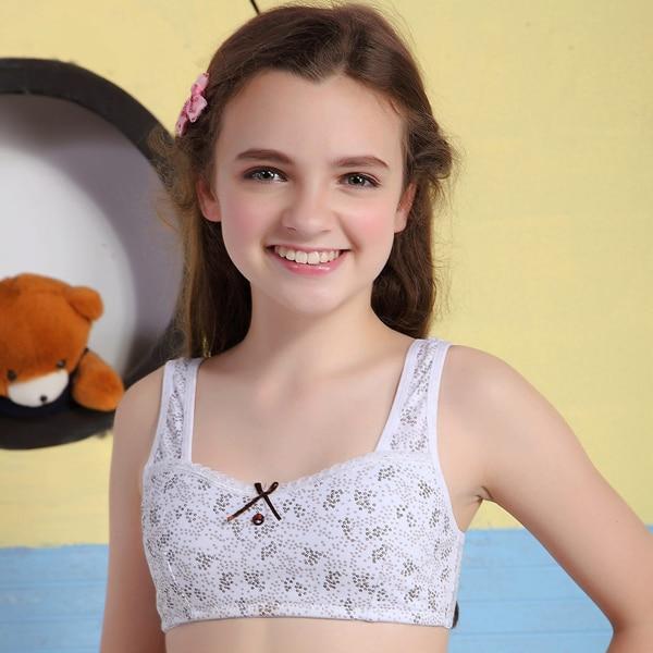 Kaqi adolescente niñas ropa interior de algodón de las