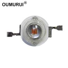 3 W LED CHIP High power LED Lamp Kralen Rood 620 625nm 700mA 2 2.4 V 80 90LM 42mil AOC Chips gratis verzending 100 pcs