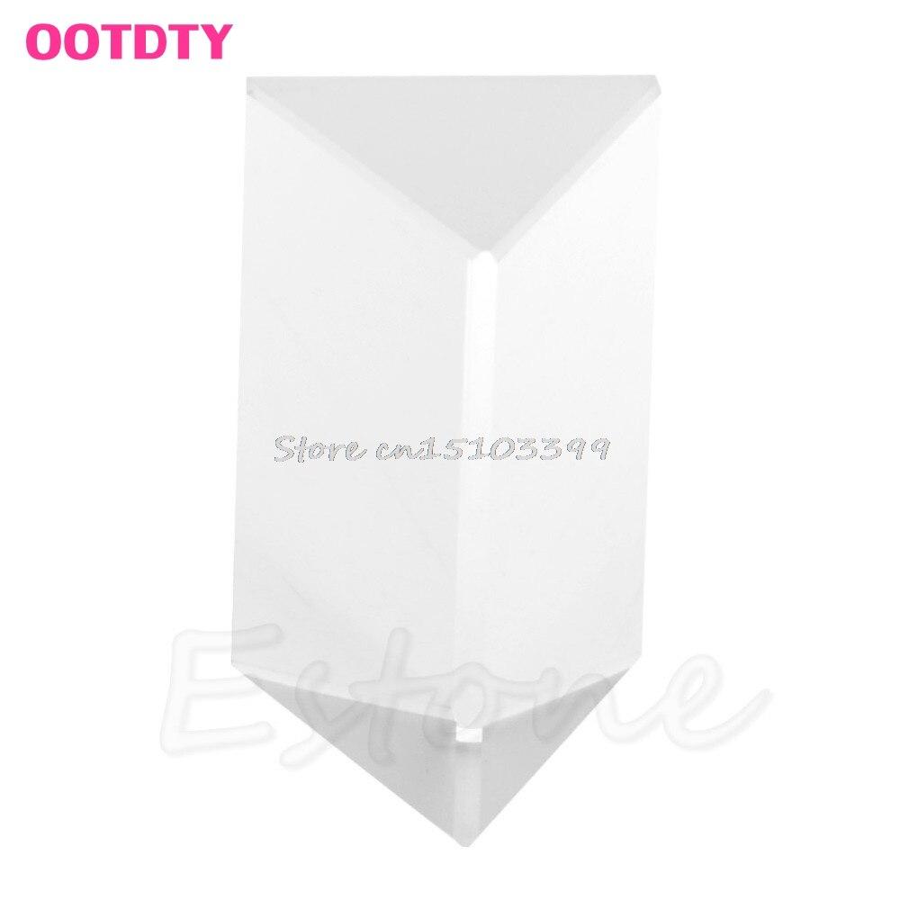 5cm háromszög alakú prizma tanítás optikai üveg hármas - Mérőműszerek - Fénykép 2
