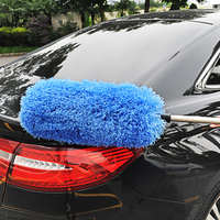 Car Wax Mop Telescopic Dusters Sweep Dust Washing Brush Cleaning Special Soft Brush Car Supplies