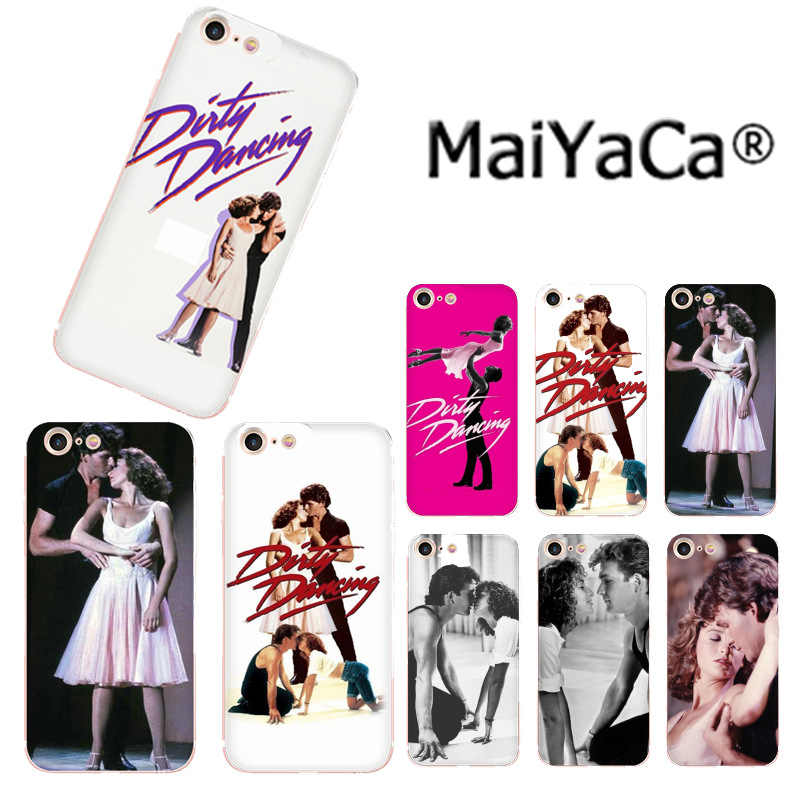 MaiYaCa Dirty Dancing Movie Poster Luxury High-end phone Case for iphone 11 pro 8 7 66S Plus X 5S SE XR XS XS MAX