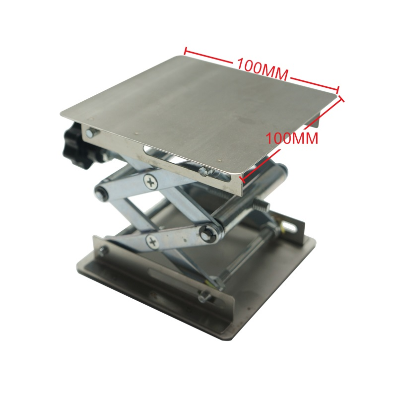 LY 100 100 Lifting platform for desktop laser engraving machine and laser marking machine max adjust height 110mm in Wood Routers from Tools
