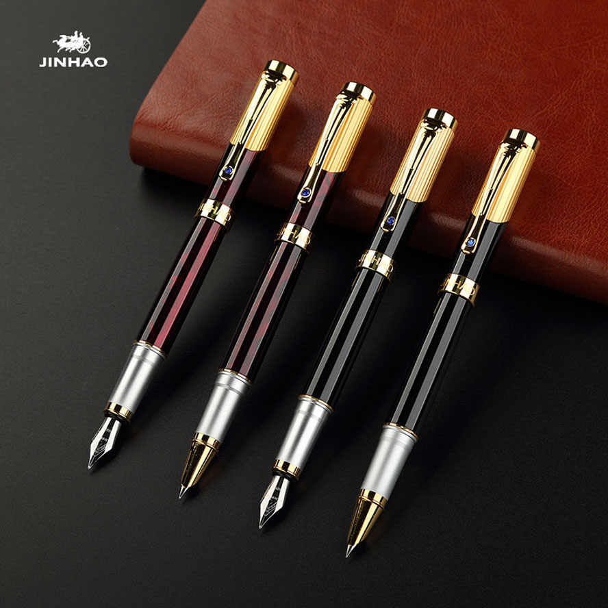 High-Quality Luxury Fountain Pen 0.5mm 0.38mm Nib JINHAO 9009  Calligraphy Pens Office school Supplies dolma kalem