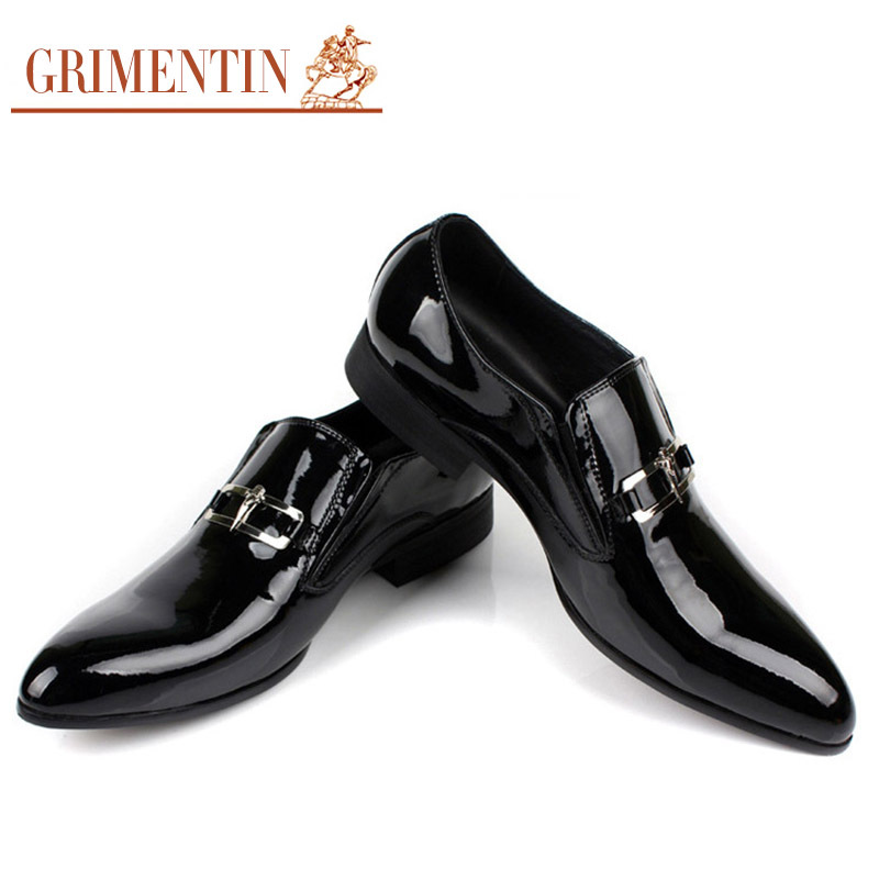 Men's Shoes 2017 Wholesale Mens Black Shoes Leather Italy Men Flat Style Casual Special Pattern Loafter Prom Wedding Dress Slip-on Formal Shoes