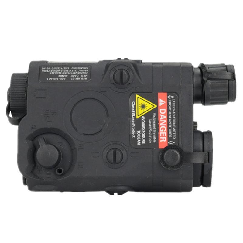 Tactical PEQ 15 Battery Case battery holder + red laser red dot black DE FG
