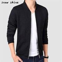 Snowshine #4503 Hommes Mode Casual Baseball Vêtements Veste Manteau Mince Outwear Pardessus livraison gratuite en gros