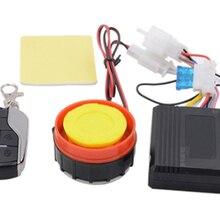 По DHL или FedEx 10 шт. Универсальный мото rcycle сигнализация 12 В скутер alarme moto водонепроницаемый кража сигнализация дистанционное управление Простота в использовании