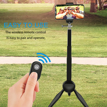 Voulttom Phone Holder Stick Foldable Tripod Wireless Remote Bluetooth Shutter for iPhone Samsung Xiaomi Note Camera Gopro