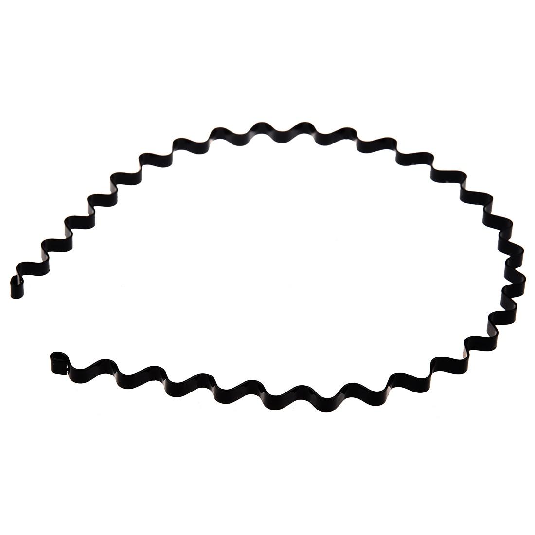 BFYL 5 pcs hairband headband UNISEX Sport Made of metal for 5mm Black
