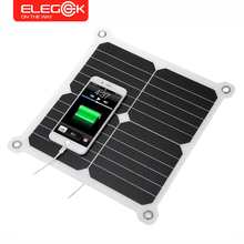 ELEGEEK 5V 13W Portable Foldable Solar Panel Charger Solar Phone/Tablet/Battery Charger Dual USB Output for iPhone Sumsung iPad