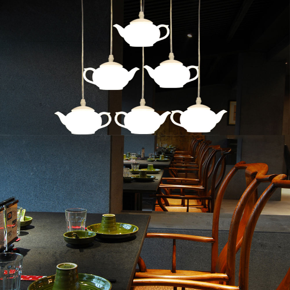Loft Teapot Droplight Acrylic Ceiling Pendant Fixture Chandelier Light Lamp Aluminum Home Corridor Loft Decorate Store CafeLoft Teapot Droplight Acrylic Ceiling Pendant Fixture Chandelier Light Lamp Aluminum Home Corridor Loft Decorate Store Cafe