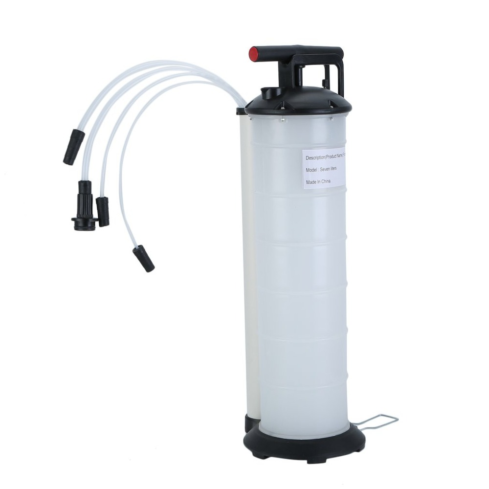 7 Liter Fluid Evacuator Manual Oil Changer Vacuum Hand Operated Engine Oil Change Fluid Extractor Pump Tank Remover