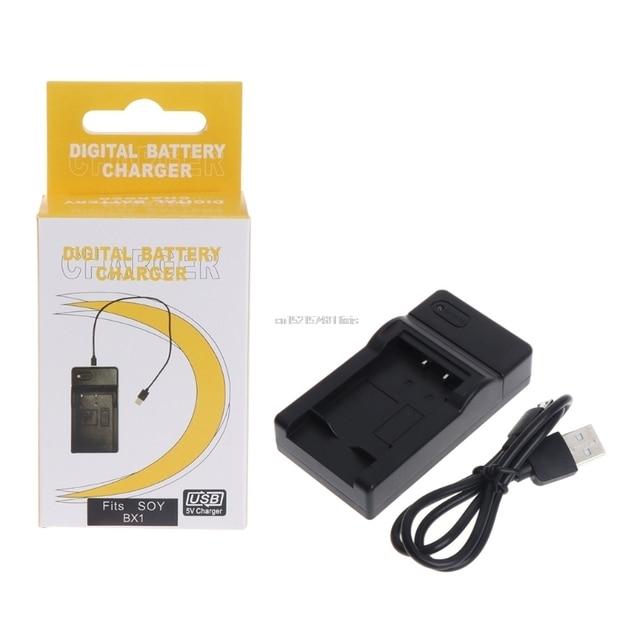 Nouveau chargeur de batterie USB de NP-BX1 pour Sony DSC RX1 RX100 M3 WX350 WX300 HX400 caméra