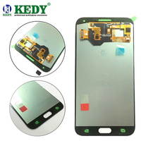 100% Super AMOLED LCD For Samsung Galaxy E7 E700 E700F SM-E7000 E7009 LCD Display Touch Screen Digitizer Assembly Free Tool
