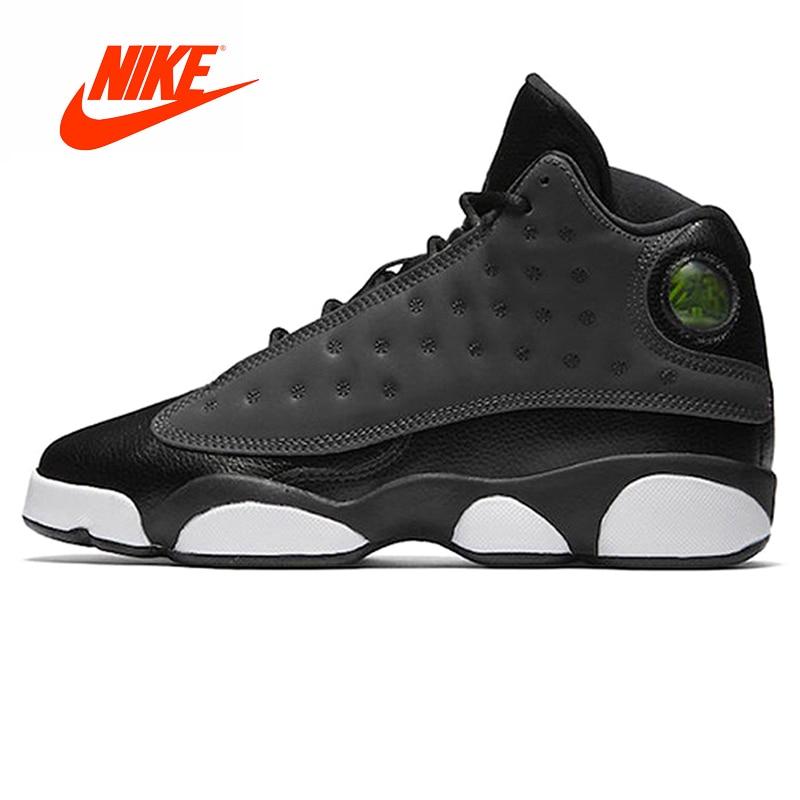 Original New Arrival Authentic Nike AIR JORDAN 13 GS ''Hyper Pink' 'Men's Basketball Shoes Sneakers Sport Outdoor Good Quality кроссовки nike team hustle d 8 gs basketball shoe boys 881941 301