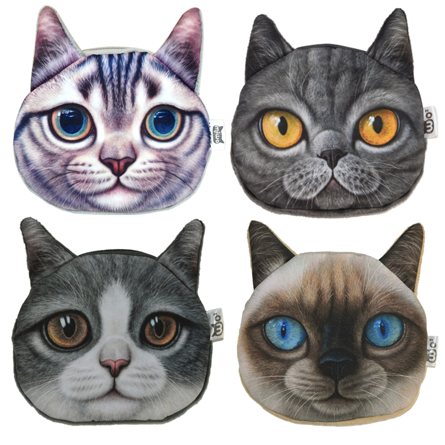 Brand Quality Animal Coin Bag Women Zipper Coin Purse For Kids Birthday Gift Change Purse Women Coin Pouch Wallet Card Holder 2015 new arrival kids rabbit animal pattern wallet children baby purse women girl coin bag key pouch for birthday gift