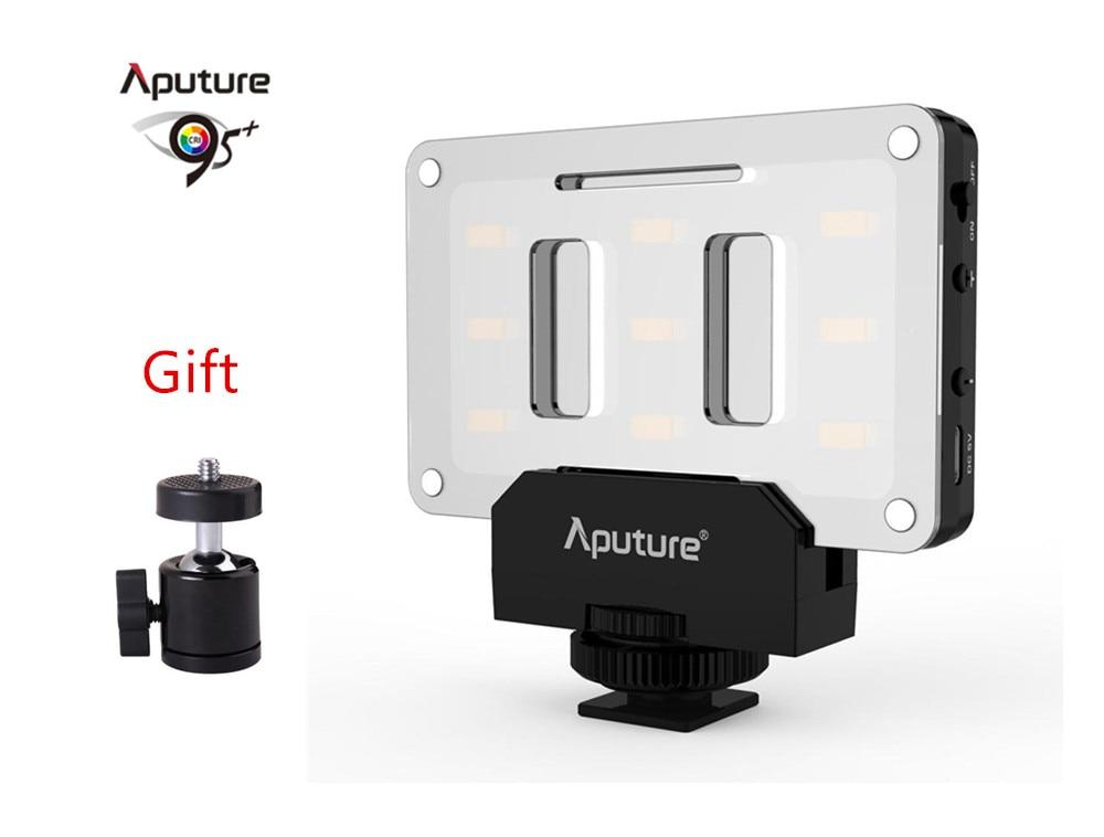цена на Aputure AL-M9 Pocket Mini LED Video Light on Camera Video Light for Nikon Canon DSLR Cameras