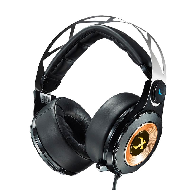 XIBERIA T18 casque de jeu stéréo avec Microphone 7.1 son Surround casque de Gamer basse profonde pour ordinateur meilleur casque