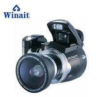 digital photo camera with periscope lens and standard screen