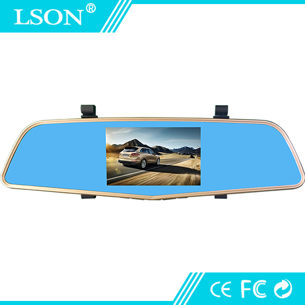 dual lens r ckfahrkamera 4 5 zoll dash cam spiegel typ. Black Bedroom Furniture Sets. Home Design Ideas