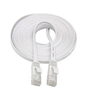 Image 1 - Câble HDMI HDMI CAT6 Ethernet réseau LAN câble plat UTP Patch routeur intéressant Lot 15M extension 0508