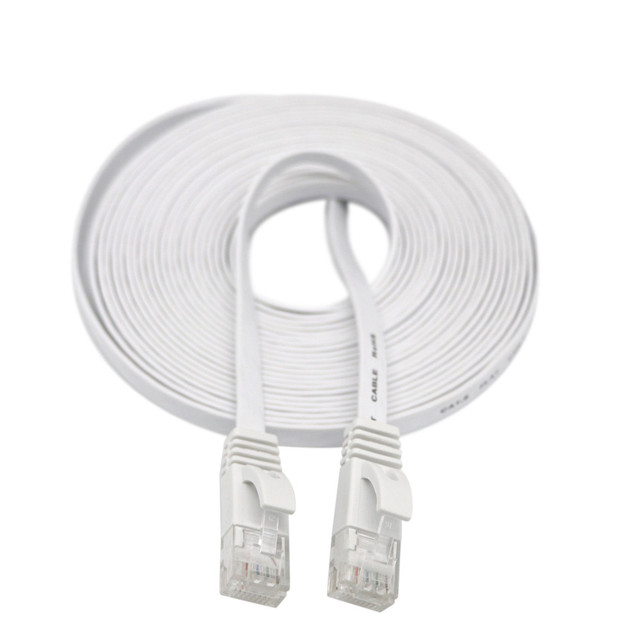 Cavo HDMI HDMI CAT6 di Ethernet di LAN della Rete Via Cavo Piatto UTP Patch Router Interessante Lotto 15 M di estensione 0508