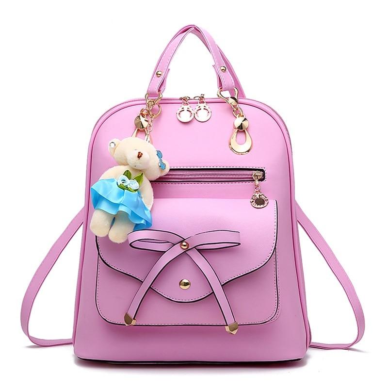 38078d685af9 Женские рюкзаки на каждый день большой емкости сумки на плечо для  подростков девочек топ-Ручка