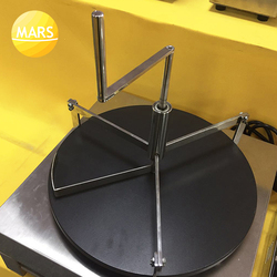 Stainless Steel Crepe Maker Pancake Batter Spreader Crepe Stick Tools Cake Batter Spreader Restaurant Canteen Specially Supplies